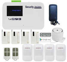P43 IOS/Android APP GSM SMS Wireless Smart Home Security Alarm Burglar System