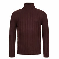 Brave Soul Draken Roll Neck Jumper