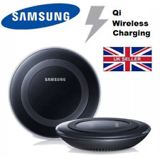 Fast Qi Wireless Charger Pad Samsung Galaxy For S6 S6Edge S7 S7Edge Black