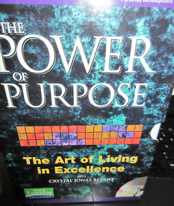 The Power of Purpose  Art of living in Excellence with Crystal Jonas Bevans 6cd