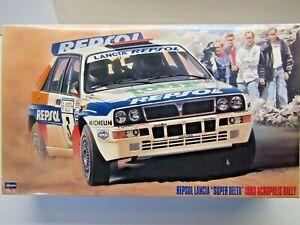 """Hasegawa 1:24 Scale Repsol Lancia """"Super Delta"""" 1993 Acropolis Model Kit # 25013"""