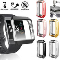 NE_ Screen Protector Protective Case Cover For Fitbit Ionic Smart Watch Accessor