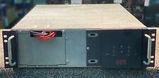 APC 3000VA UPS - Front plastic missing - 3u - New Batteries - 12 Month RTB