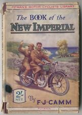 New Imperial Motorcycles 1935 by Camm Pitman Technical Book colour dust wrapper
