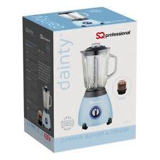 SQ PRO Luminate 500W Blender with 1.5 Litre Glass Measuring Jug and Grinder
