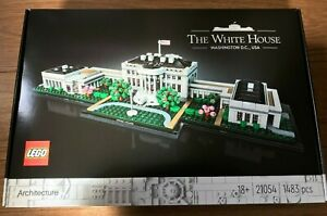 Lego 21054 Architecture The White House 1483 pieces ~NEW & Unopened~