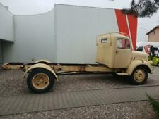 Mercedes Benz L4500 Diesel OM 312 6R 1954 chassis for bodywork registered