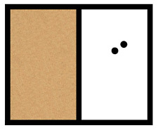 """Magnetic Dry Erase Board Cork Message Board Home Office Whiteboard Note 18""""x22"""""""