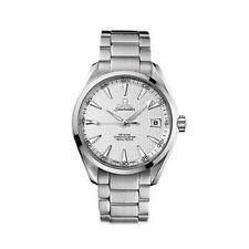 OMEGA polierte Armbanduhren mit Datumsanzeige
