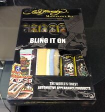 ED HARDY CAR MAINTENANCE KIT THE WORLD'S FINEST AUTOMOTIVE APPEARANCE PRODUCTS