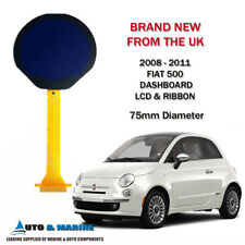 FIAT 500 LCD DISPLAY SCREEN & RIBBON for CLUSTER 2008 to 2011 BRAND NEW IN UK