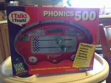 NIB New Leap Frog PHONICS 500 Race game HTF Age 4-7 PreK-1st homeschool teacher