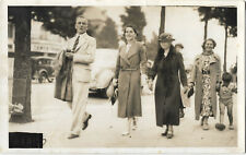 Lincolnshire Presumably Skegness ? Real Photo Vintage Postcard