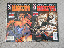 Shang-Chi: Master of Kung Fu #5-6 (2003, Marvel) James Bond, Moench, Gulacy