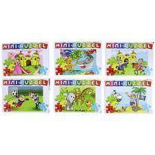 12x Mini Puzzle Kindergeburtstag Mitgebsel Kinderparty Geschenkidee für Kinder