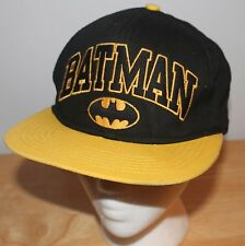 Batman Dark Knight Baseball Cap Hat Snapback D.C. Comics The Caped Crusader