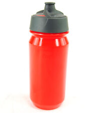 Tacx Shanti Bicycle Water Bottle, 500ml, Red, with Integrated Membrane