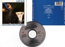 """JAPAN """"Gentlemen Take Polaroids"""" (CD) 1980"""