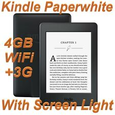 Amazon Kindle Paperwhite 3 (7th Generation) 4GB Wi-Fi+3G 6in E-Reader