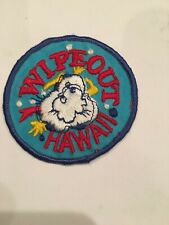 WipeOut Hawaii Patch