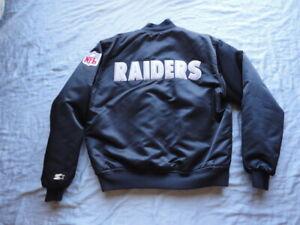Los Angeles Raiders Vintage 1980's Starter Jacket 100% AUTHENTIC!!!