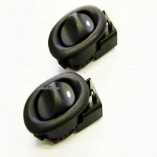FRONT/REAR Electric Power Window Switch PAIR BLACK Holden Commodore VT VY VZ VX