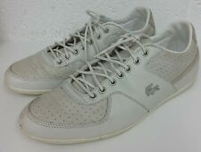 Lacoste Gris/Zapatos Estilo Entrenador De Piedra-Tamaño 8 UK/42