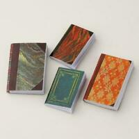 4 Pcs 1/12 Dollhouse Miniature Accessories Mini Books Notebook_M Simulation N5L2