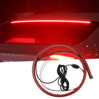 12V Car LED Strip Brake lights 90cm Rear Tail Warning Light Stop Lamp Waterproof