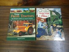 """2 Tractor Books """"Vintage Farm Tractors"""" """"How to Keep Your Classic Tractor Alive"""""""