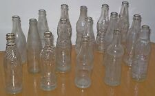 Vintage Glass Bottle Collection Huge lot 15 old Israel Soft drinks 1950's -70's