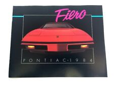 7 POSTCARDS BONNEVILLE Etc 1984 PONTIAC FIREBIRD FIERO BROCHURE // CATALOG