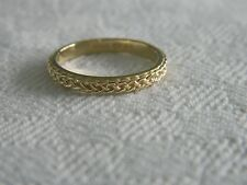 Clogau 9ct Welsh Gold Eternity Affinity Stacking Ring size M