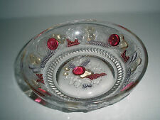 Vintage BEAUTIFUL Della Robbia by Westmoreland Small Nappy Bowl 1920-50's