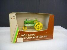 """1988 Ertl 1/43 1934 John Deere Model  """"A""""  #5598"""