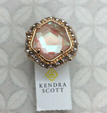 Kendra Scott Women's Size 6 Schuyler 14k Rose Gold Plated Glass Ring