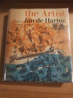 The Artist By Jan De Hartog 1st Ed 1963 With Dj