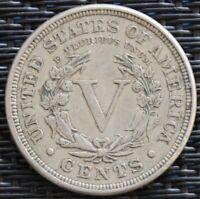 USA 5 CENT 1891