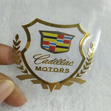 New Car Auto Window Sticker Emblem Badge Decal Accessories Fit for Cadillac Gold