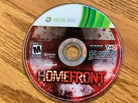Homefront (Microsoft Xbox 360, 2011) DISC ONLY!!!! TESTED!!!