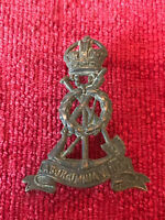 Royal Pioneer Labour Corps Brass Cap Badge British Army Military Genuine 18/6