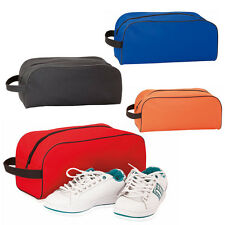 Football Rugby Boot / Sports Trainer Shoe Bag 4 Colour choices 600D Polyester UK