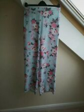 Quiz Size 8 Palazzo Trousers Floral Print BNWT