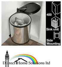 KITCHEN STEEL WASTEBIN 15L WITH UNIT DOOR FIXING HAFELE *FREE 24H DELIVERY*