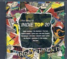 CD COMPIL 19 TITRES--INDIE TOP 20--DEPECHE MODE/SHAMEN/SUNDAYS/CHARLATANS/FARM..