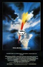 """SUPERMAN THE MOVIE"" (Christopher Reeve / Marlon Brando) Full Size Film Poster"