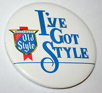 Vintage I've Got Heileman's Pure Genuine Old Style Beer Pin Button NOS New 1970s