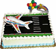 AIRPLANE Cake Kit Topper Decoration JET JETLINER Airliner Pilot