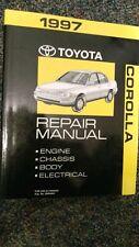 1997 Toyota Corolla Factory Service Repair Manual