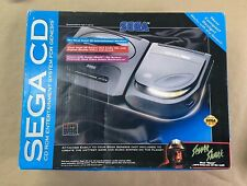 1993 SEGA CD BOX (empty Box Only!) W/various Original Packaging Items